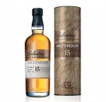 BALLANTINE'S THE MILTONDUFF 15YO WHISKY 0,7L + TUBA