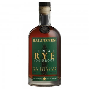 BALCONES TEXAS RYE 100 PROOF WHISKY 0,7L