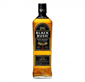 BUSHMILLS BLACK BUSH WHISKEY 0,7L