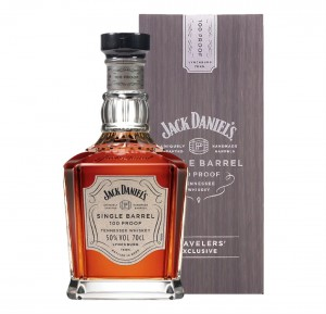 JACK DANIEL'S SINGLE BARREL 100 PROOF TRAVELERS' EXCLUSIVE 0,7L + KARTONIK