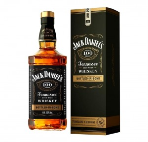 JACK DANIEL'S BOTTLED IN BOND TRAVELERS EXCLUSIVE 1L + KARTONIK