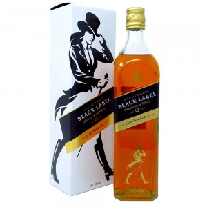 'THE JANE WALKER EDITION' - JOHNNIE WALKER BLACK LABEL  12YO WHISKY 0,7L + KARTON