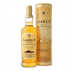 AMRUT INDIAN SINGLE MALT WHISKY 0,7L + TUBA