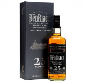 THE BENRIACH 25YO WHISKY 0,7L + PUDEŁKO