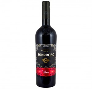 WINO SONOROSO VELVET RED BLEND IGT 0,75L