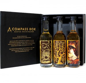 COMPASS BOX WHISKY ZESTAW 3*0,05L