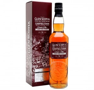 GLEN SCOTIA 14YO FESTIVAL RELESE 2020 PEATED TAWNY PORT FINISH WHISKY 0,7L + KARTON