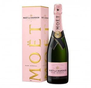 SZAMPAN MOET & CHANDON ROSE IMPERIAL 0,75L + KARTONIK