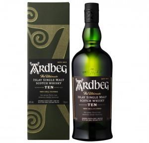 ARDBEG 10YO SINGLE MALT WHISKY 0,7L + KARTONIK
