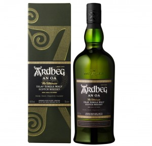 ARDBEG AN OA SINGLE MALT WHISKY 0,7L + KARTON