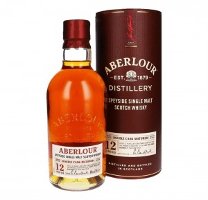ABERLOUR 12YO DOUBLE CASK MATURED SINGLE MALT WHISKY 0,7L + TUBA