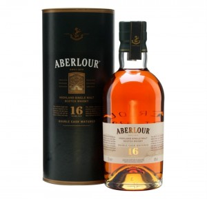 ABERLOUR 16YO DOUBLE CASK MATURED SINGLE MALT WHISKY 0,7L + TUBA