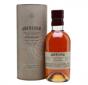 ABERLOUR A'BUNADH SINGLE MALT WHISKY 0,7L + TUBA