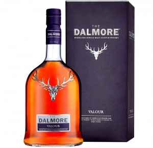 THE DALMORE VALOUR WHISKY 1L + KARTON