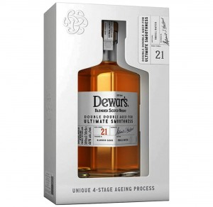DEWAR'S 21YO DOUBLE DOUBLE BLENDED WHISKY 0,5L