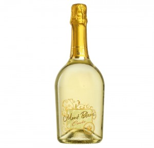 WINO MONTELLIANA MONT BLANC CUVEE AT. EXTRA DRY VINO BIANCO SPUMANTE 0,75L